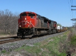CN 8822 with 149 at Mile 260 Kingston Sub.